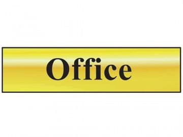 Office - Polished Brass Effect 200 x 50mm